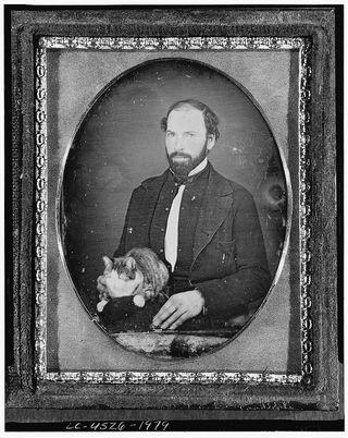 Man and cat original